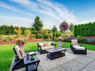 backyard landscaping allen